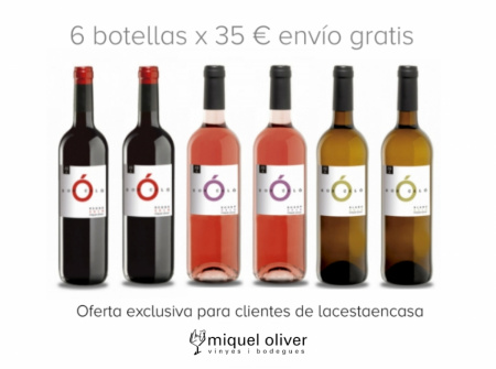 Pack 6 botellas Son Caló