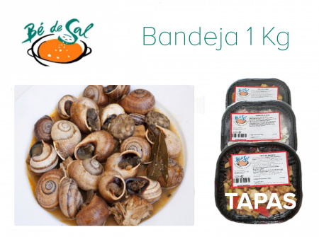 A-T) Tapa: Caracoles (1 Kg)