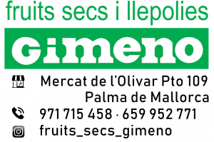 Fruit secs Gimeno